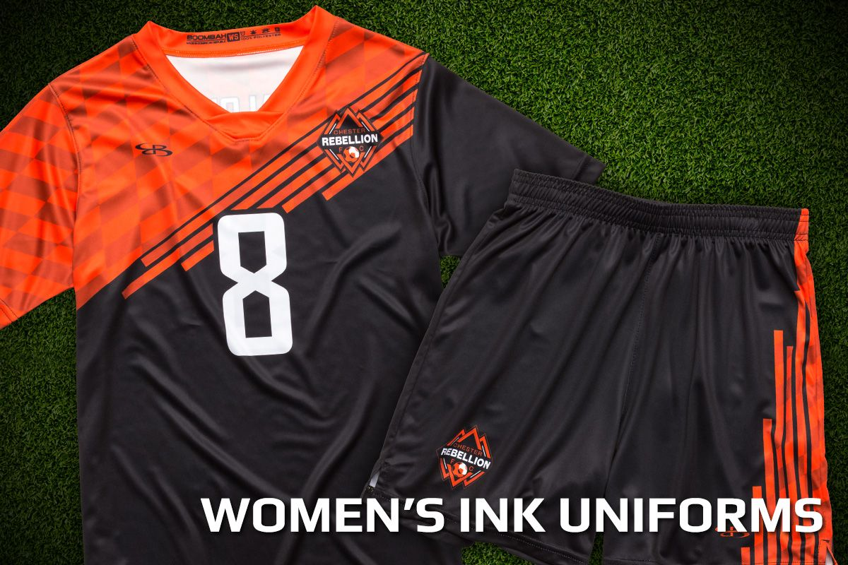 womens custom soccer uniforms