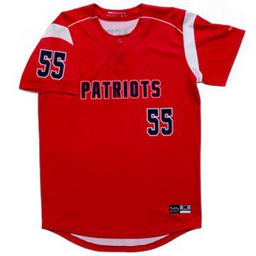 baseball uniforms 2 button