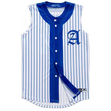 baseball uniforms full button sleeveless