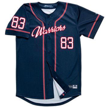 baseball uniforms full button