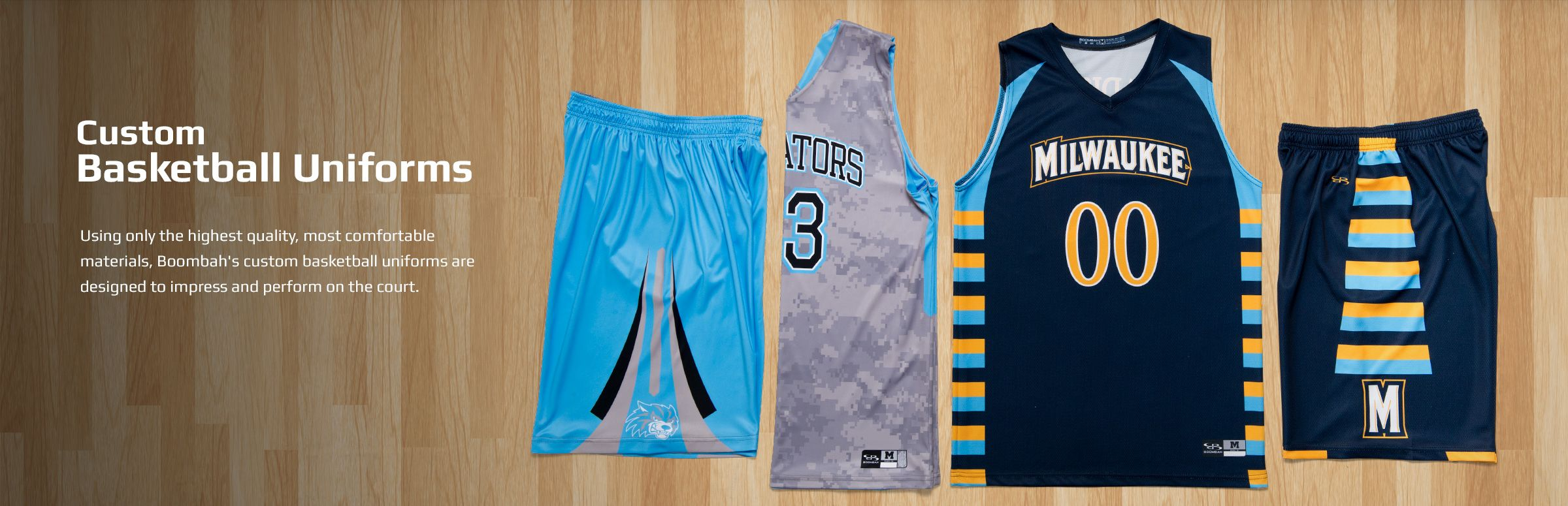 Boombah Men's Basketball Uniforms