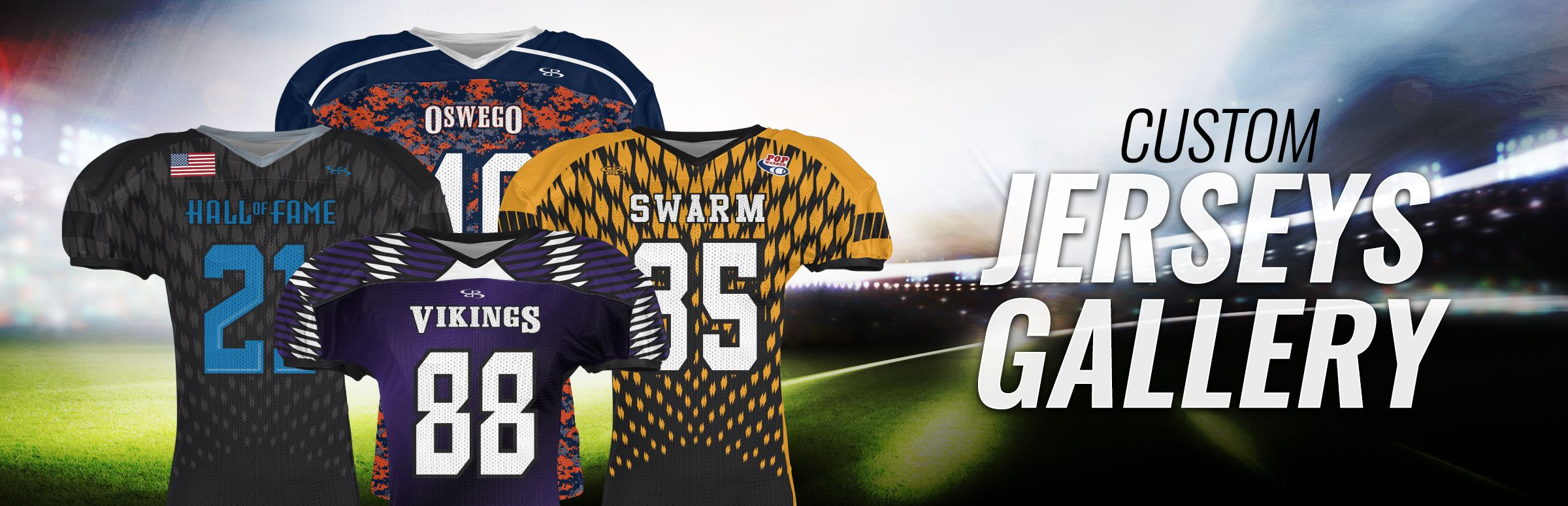 Boombah Custom Football Uniforms Gallery