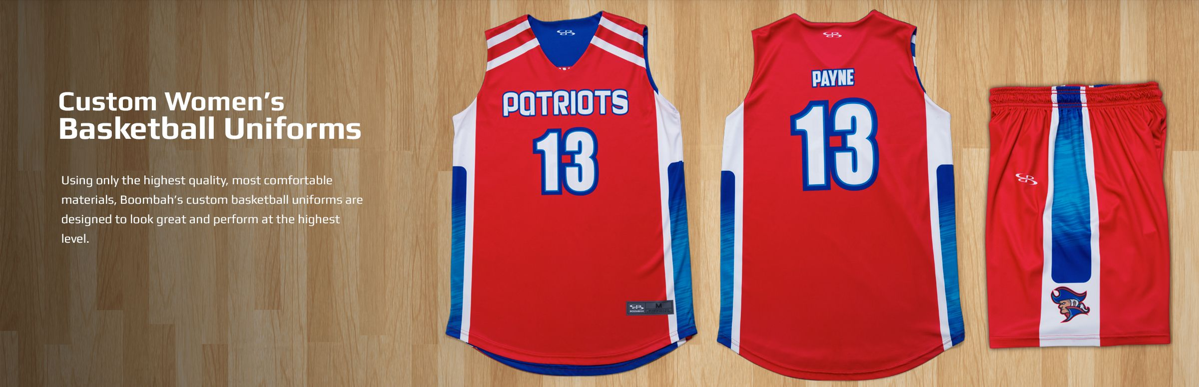 Boombah Women's Basketball Uniforms