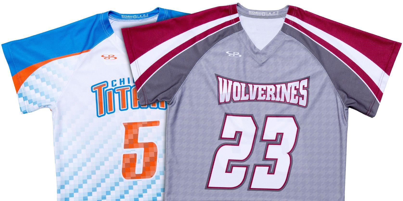 Boombah Lacrosse Uniforms