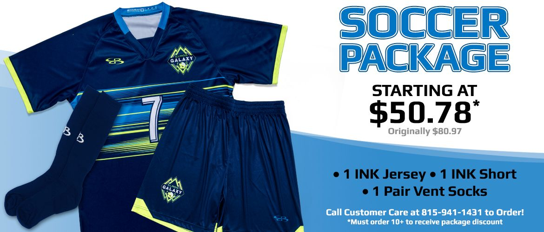 soccer uniform packages
