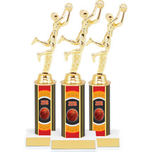 "Basketball Trophies - 10 3/4"" 2016 Super Saver Basketball Package Deal - 12 Basketball Trophies"