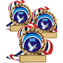 "2 3/4"" Super Saver 2016 Religious Spin Medal Package Deal - Set of 3"