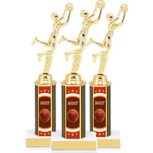 "Basketball Trophies - 10 3/4"" 2017 Super Saver Basketball Package Deal - 12 Basketball Trophies"