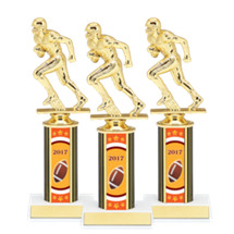 """8"""" Super Saver 2017 Football Package Deal - 15 Male Football Trophies"""