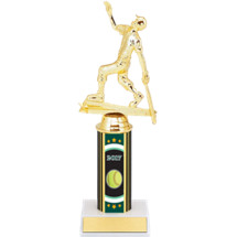 "Softball Trophy - 10"" 2017 Super Saver Softball Deal Individual Trophy with Female All Star Softball Figure"