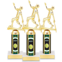 "Softball Trophies - 10"" 2017 Super Saver Softball Package Deal with Female All Star Softball Figure - Set of 15"
