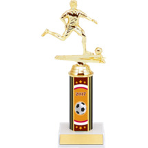 "Soccer Trophy - 9 1/2"" 2017 Male Soccer Trophy - Individual Deal"