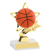"5"" Basketball Star Trophy"