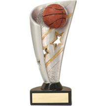 "Basketball Trophy - 7"" 3D Resin Basketball Award"