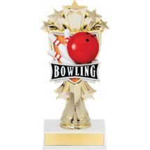 "7 1/2"" Bowling Stars Trophy"