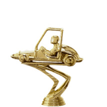 Quarter Midget Gold Trophy Figure