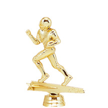 Male All Star Football Gold Trophy Figure