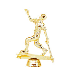 Female All Star Softball Gold Trophy Figure