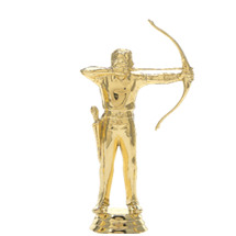 Male Archer Gold Trophy Figure