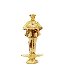 Safety Driver Gold Trophy Figure