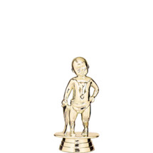 Baby Standing Gold Trophy Figure