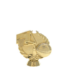 3d Basketball Gold Trophy Figure