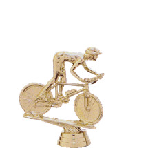 Mountain Bike Gold Trophy Figure