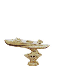 Outboard Pleasure Boat Gold Trophy Figure