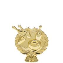 3d Bowling Gold Trophy Figure