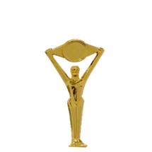 Bridge Victory Gold Trophy Figure