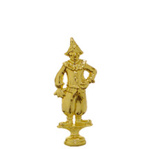 Clown Gold Trophy Figure
