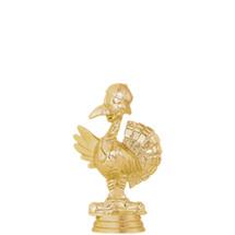 Comic Turkey Gold Trophy Figure