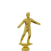 Male Tap Dancer Gold Trophy Figure