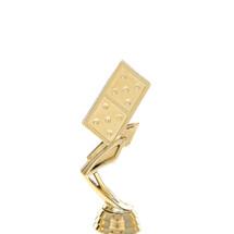 Domino Gold Trophy Figure