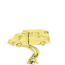 Ambulance Gold Trophy Figure