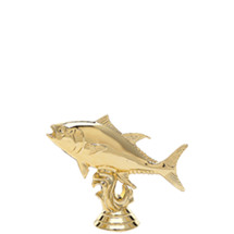 Tuna Fish Gold Trophy Figure