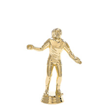 Handball Male Gold Trophy Figure
