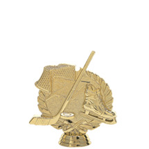 Hockey 3-D Gold Trophy Figure