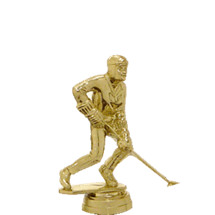 Street Hockey Gold Trophy Figure
