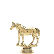 Quarter Horse w/out Saddle Gold Trophy Figure
