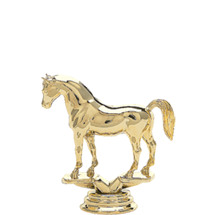 Arabian Horse Gold Trophy Figure
