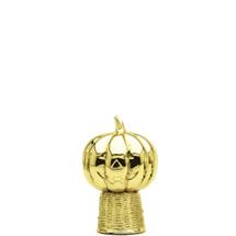 Jack O Lantern Gold Trophy Figure