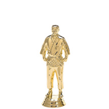Judo Standing Male Gold Trophy Figure