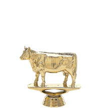 Angus Cow Gold Trophy Figure