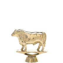 Angus Bull Gold Trophy Figure