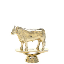 Angus Steer Gold Trophy Figure