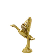 Canadian Goose Gold Trophy Figure