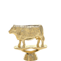 Hereford Cow Gold Trophy Figure