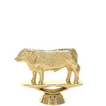 Hereford Steer Gold Trophy Figure