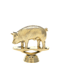 Hog Gold Trophy Figure